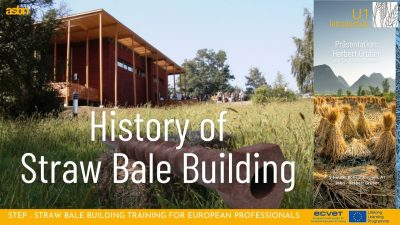 History of Straw Bale Building